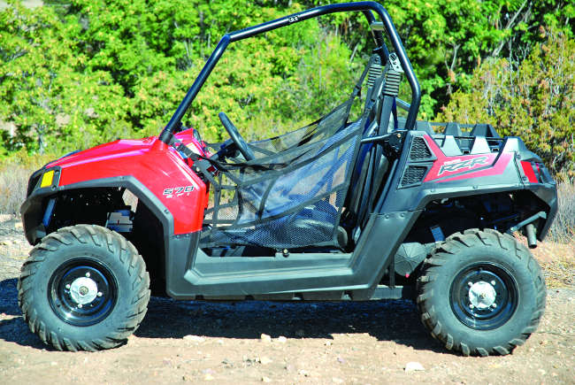 Polaris Rzr 570 Efi 4x4 Utv Action Magazine