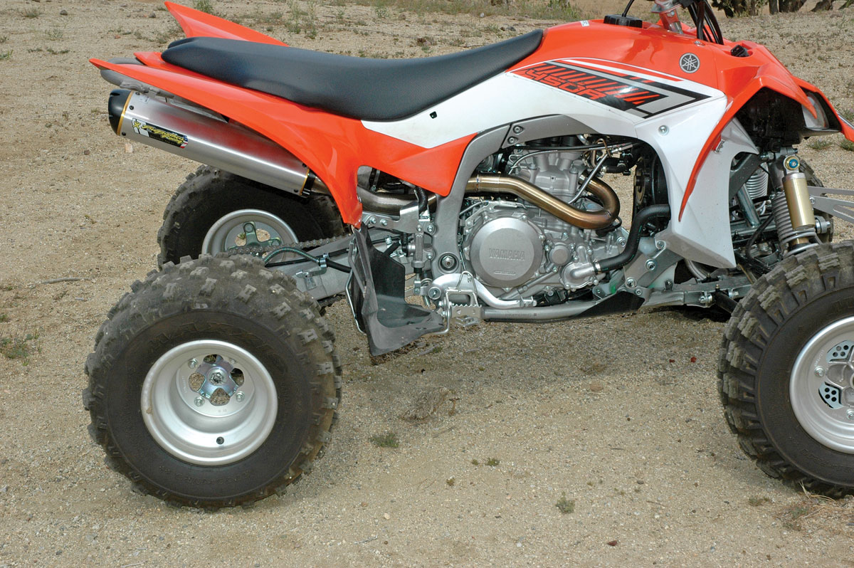 yfz450r exhaust two brothers m 7