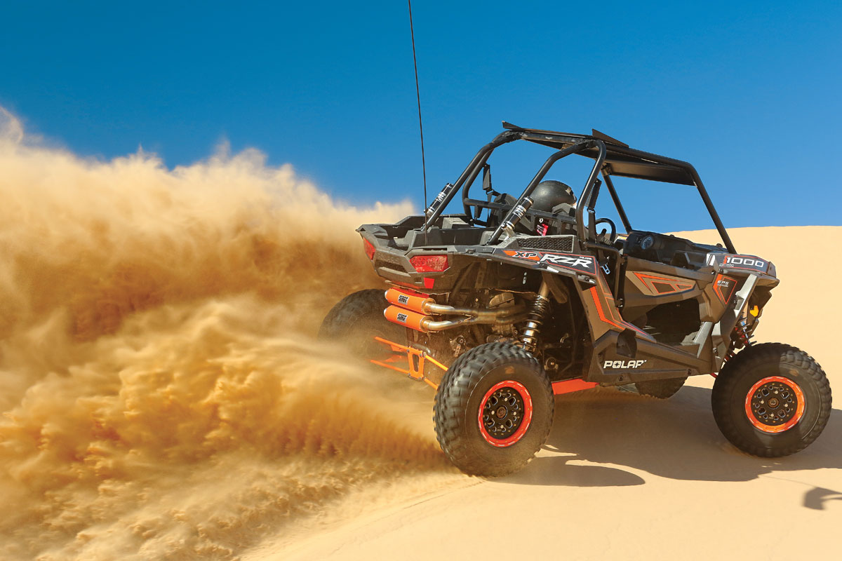 BUYER'S GUIDES: RZR XP 1000 Exhaust System | UTV Action Magazine