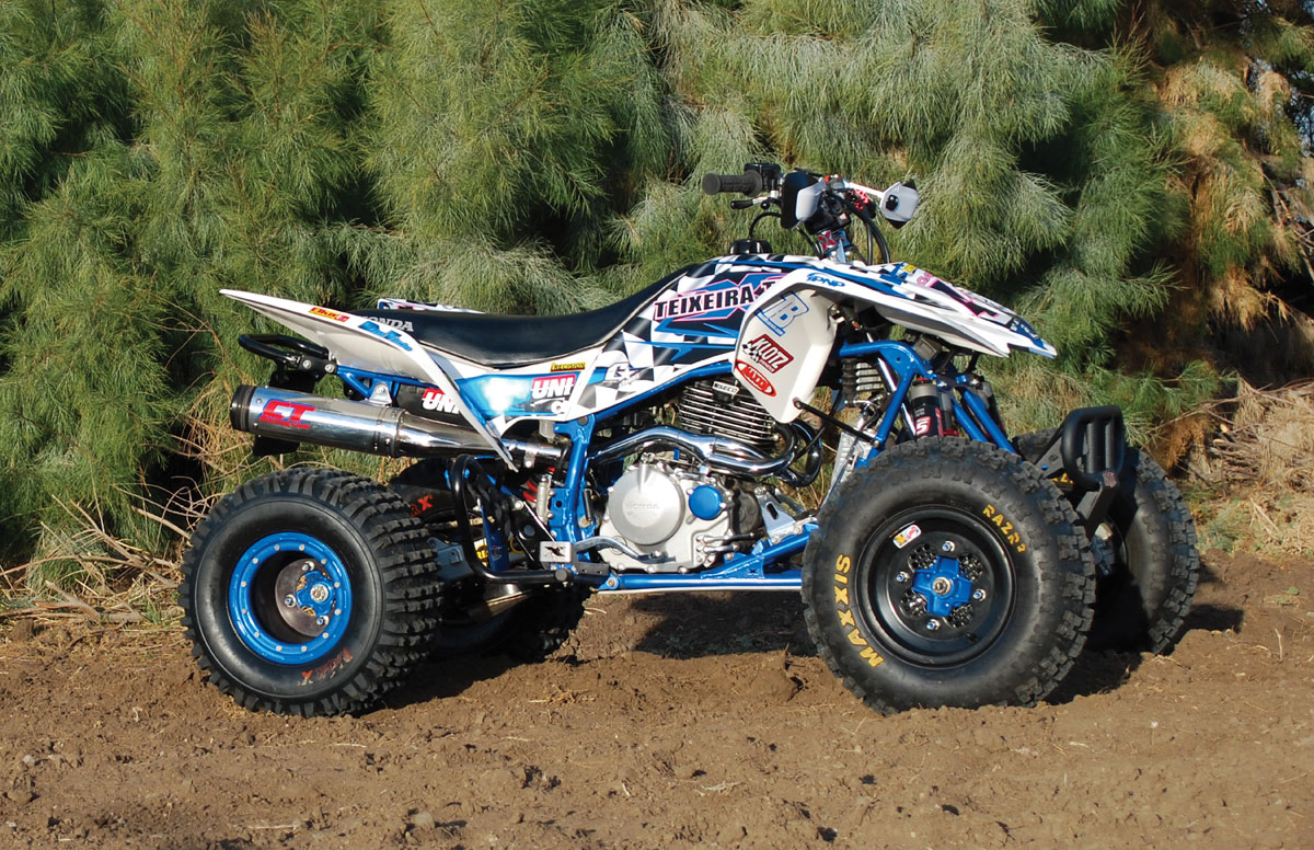 PROJECT TEST: Teixeira Tech Honda TRX400EX Project Quad