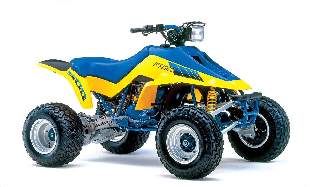 suzuki atvs that changed the world utv action magazine rh utvactionmag com  2018 CR 500 Suzuki ATV Fun