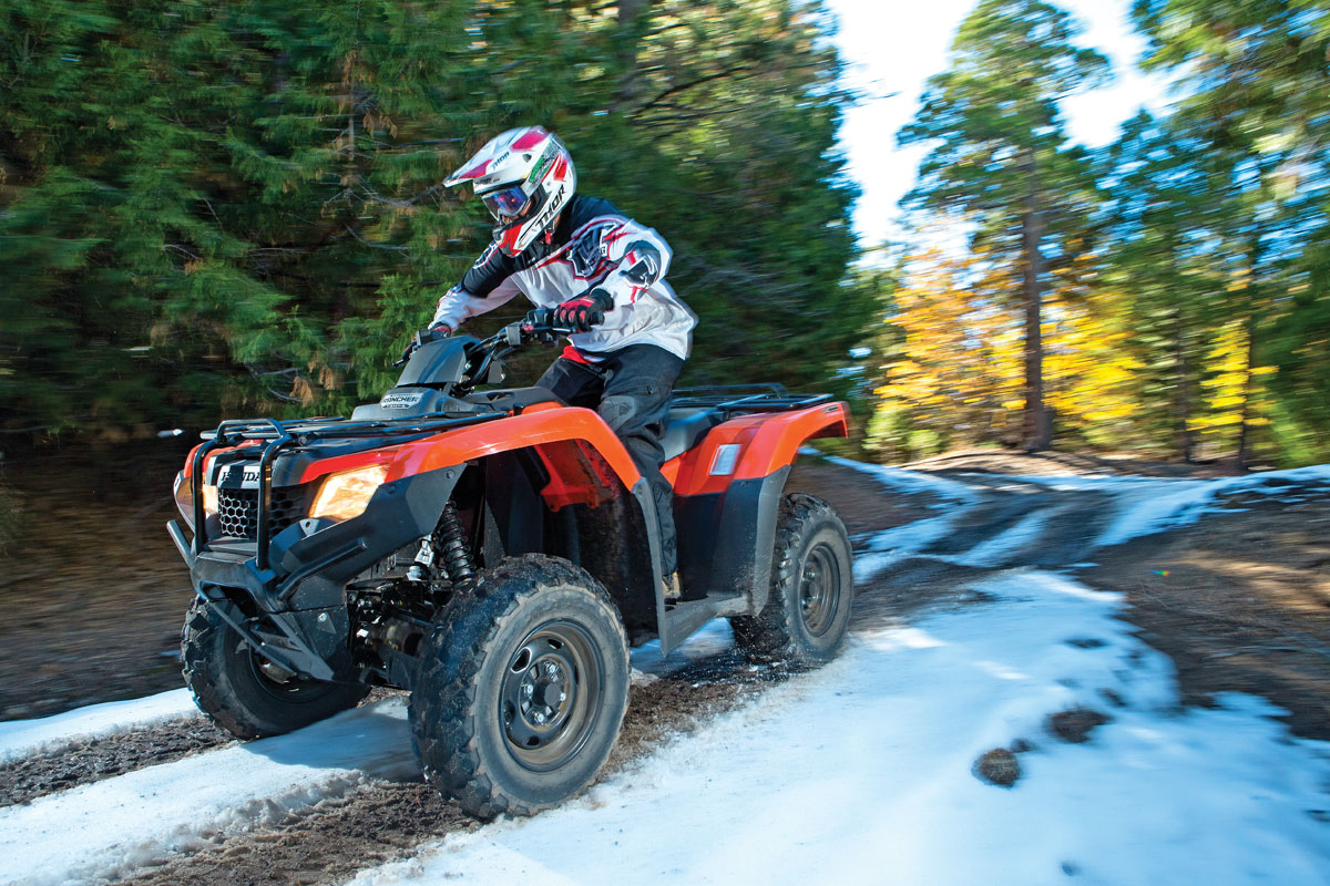 Honda Rancher 420 Automatic IRS EPS   UTV Action Magazine