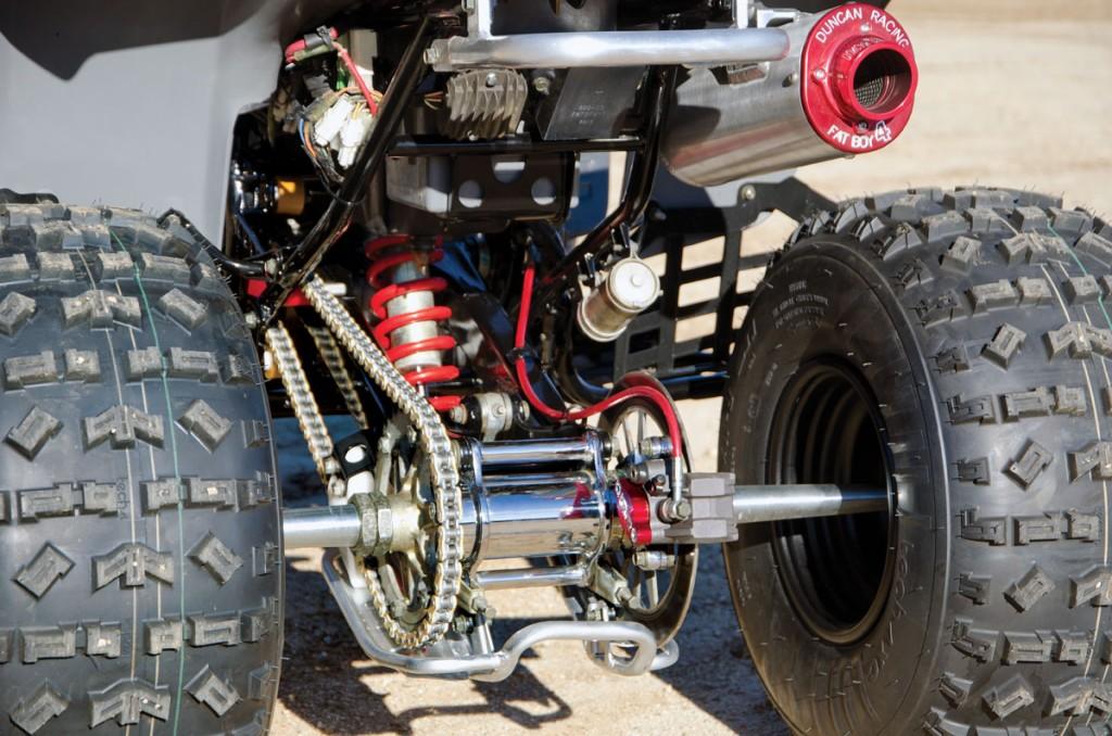 Project Atv Duncan Racing Yamaha Warrior Utv Action Magazine