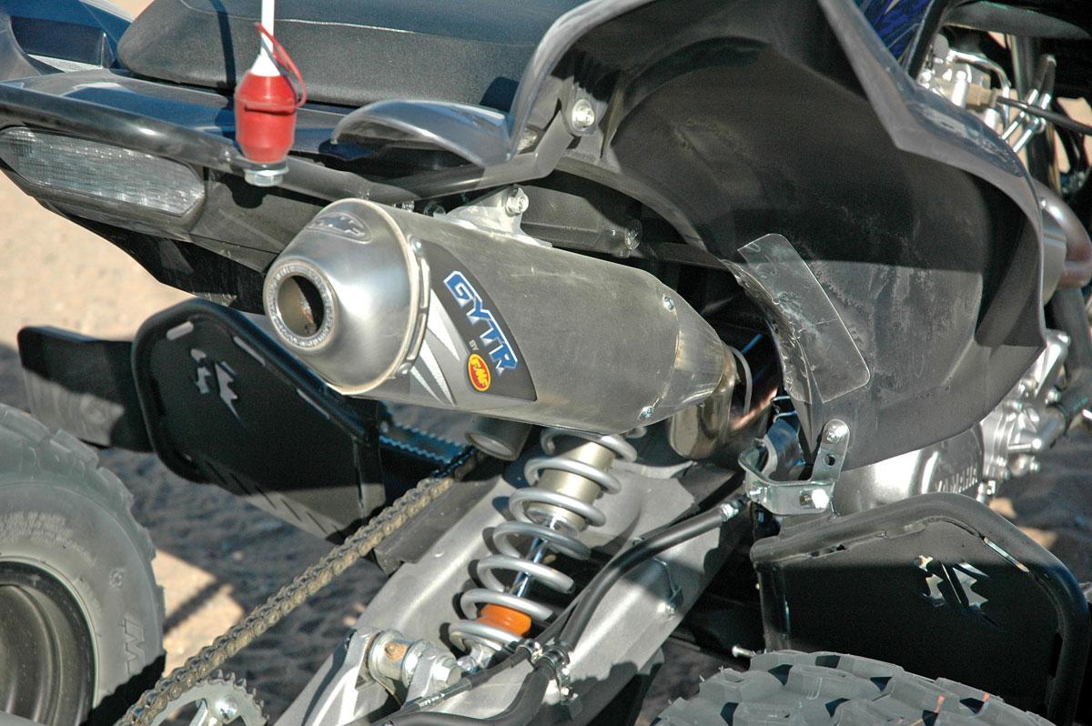 PRODUCT TEST GYTR Raptor 700R Exhaust Test