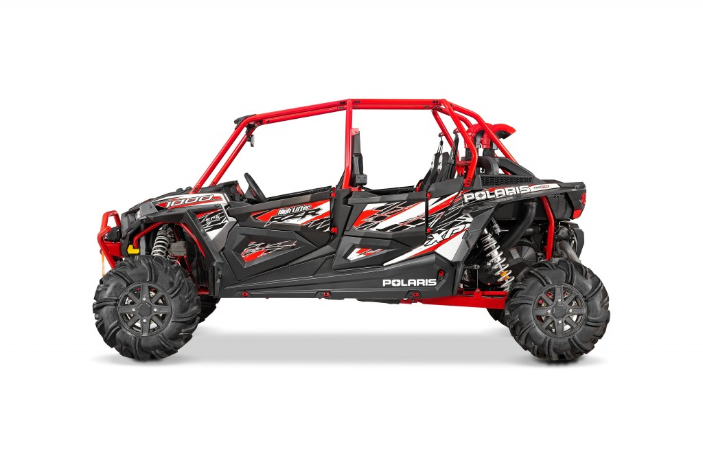 New Rzr S From Polaris 4 Seat Turbo Released