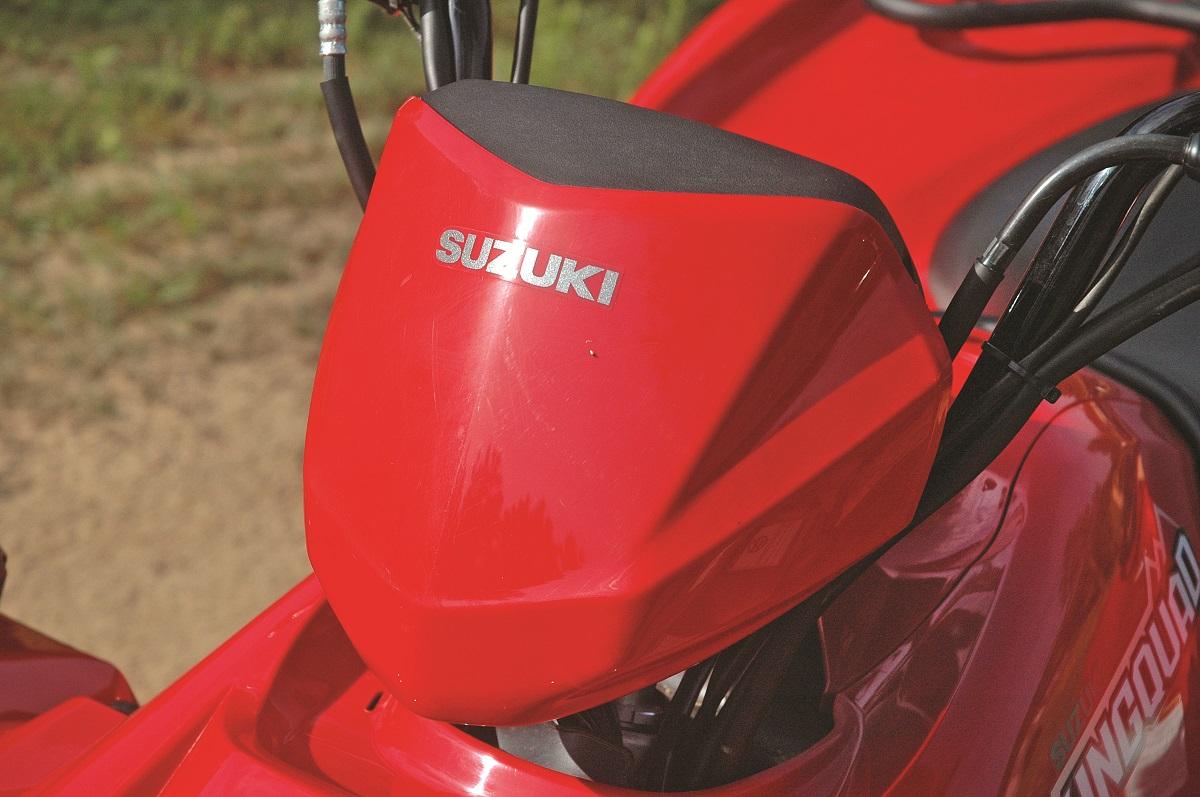 MACHINE TEST: 2016 Suzuki KingQuad 750 Power Steering   UTV