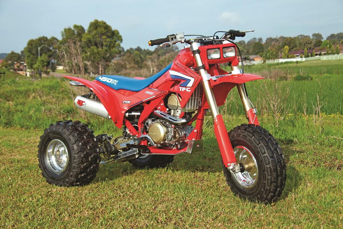 Atc Test Honda Tpc450r Tpc Trikes