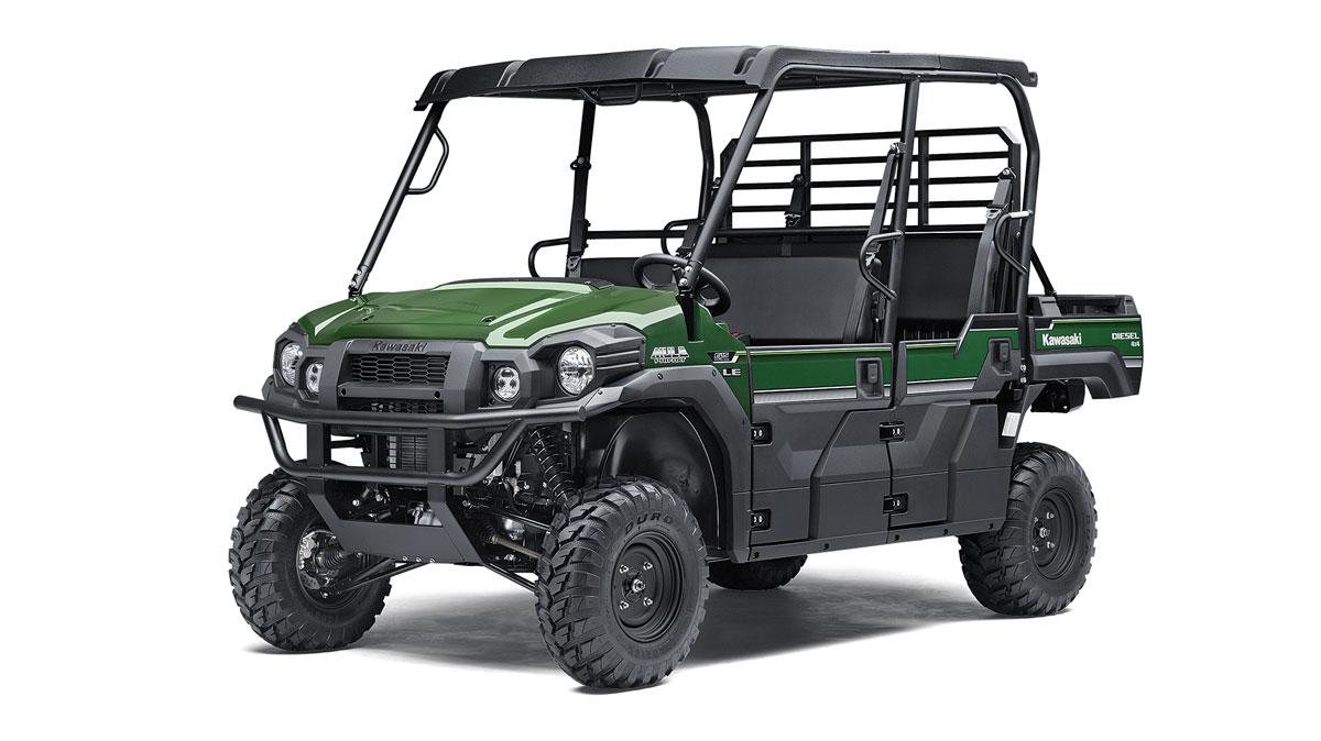 Kawasaki Teryx  Dimensions