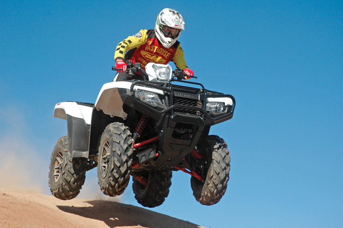 2016 Honda Rubicon DCT EPS Deluxe Test | UTV Action Magazine