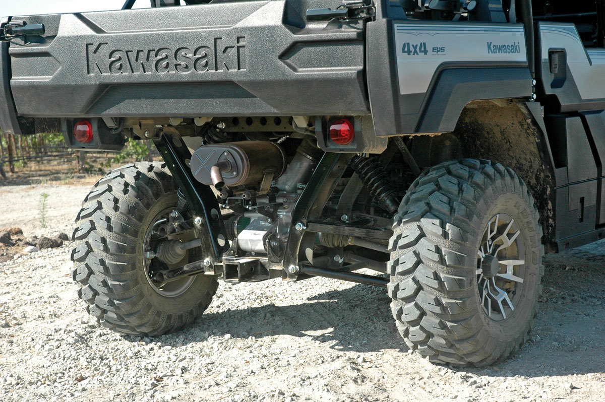 Kawasaki Mule Pro Fxt Ranch Edition Test Utv Action Magazine
