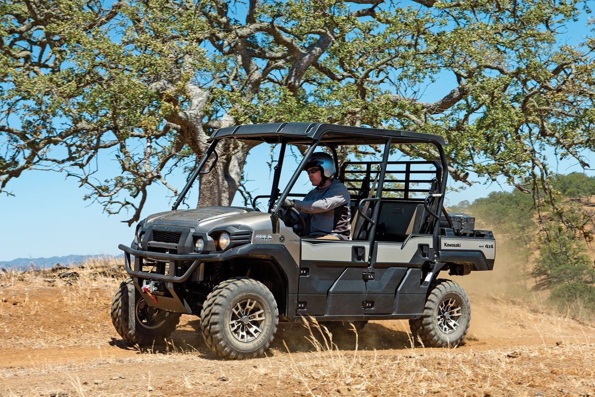 Kawasaki Mule Pro Fxt Ranch Edition Test Utv Action Magazine