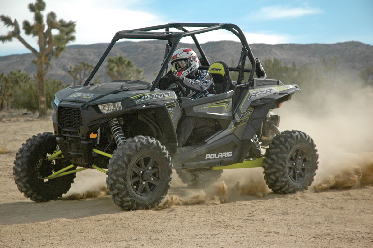2016 Polaris RZR XP 1000 EPS test | UTV Action Magazine