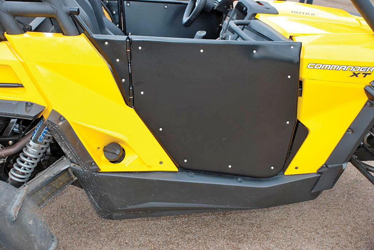 DoorBG17_utv-inc-can-am-commdader-opening-removable-doors- & UTV Door Buyer\u0027s Guide | UTV Action Magazine
