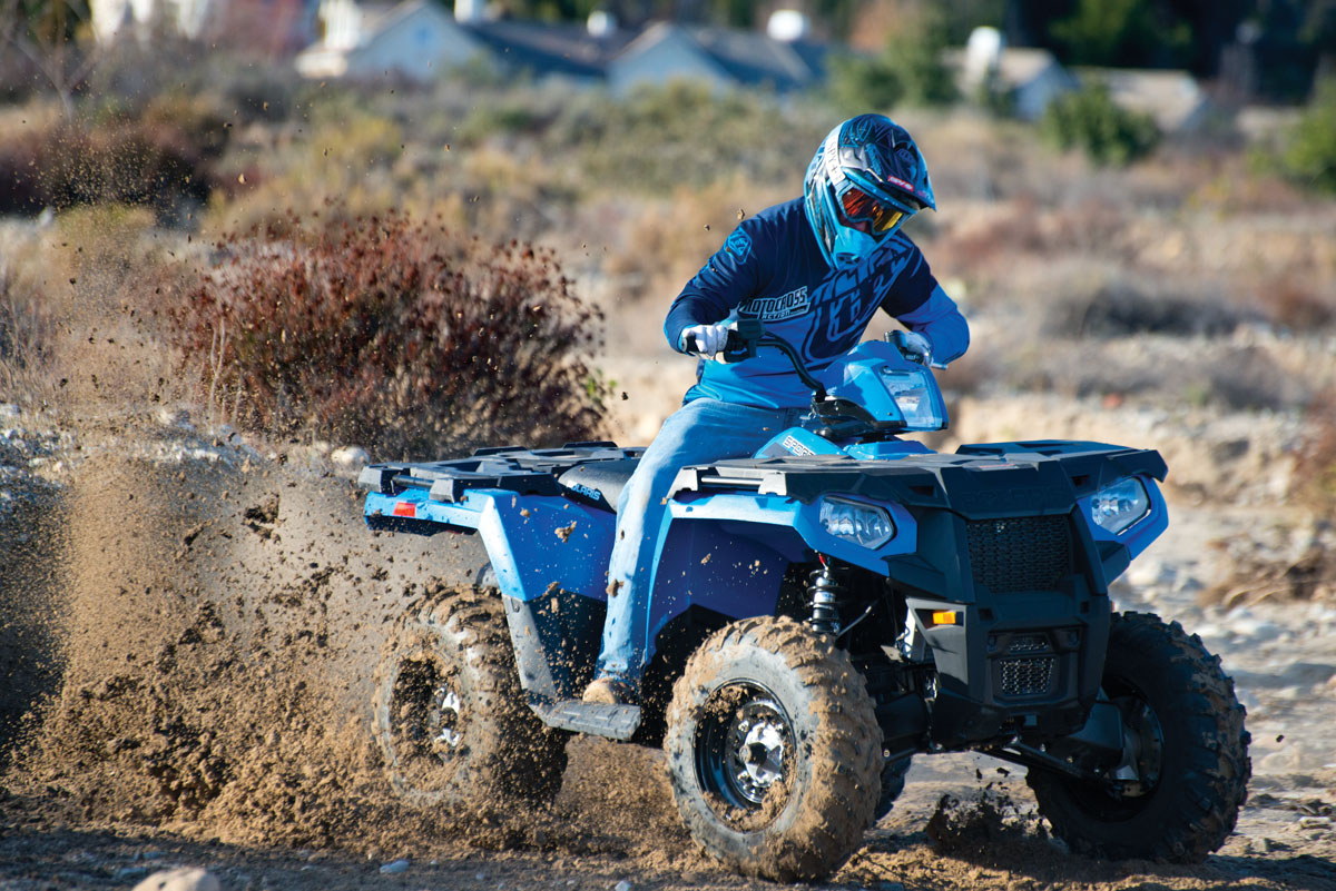 POLARIS SPORTSMAN 450 H O  TEST! | UTV Action Magazine