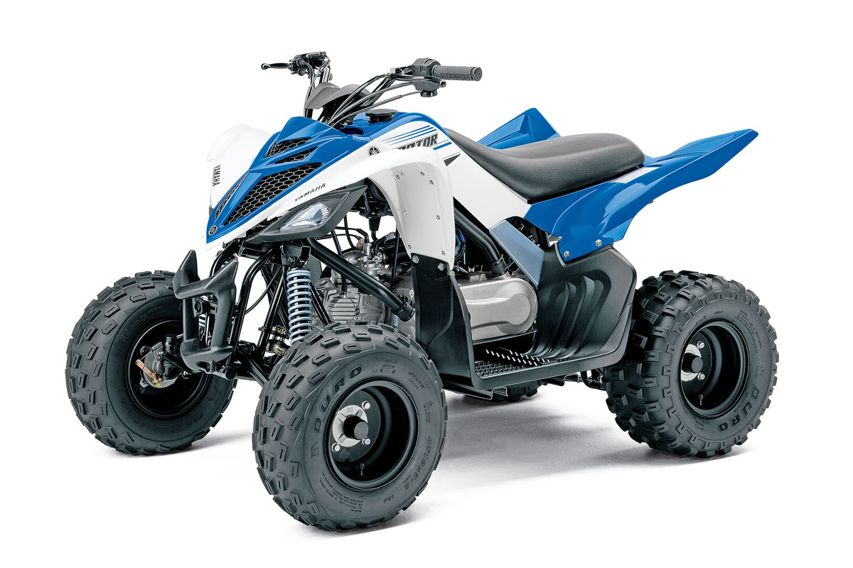2016 Raptor 90 Wiring Starting Diagram Free Download Yamaha Youth Atv Buyers Guide Utv Action Magazine Ford Svt At