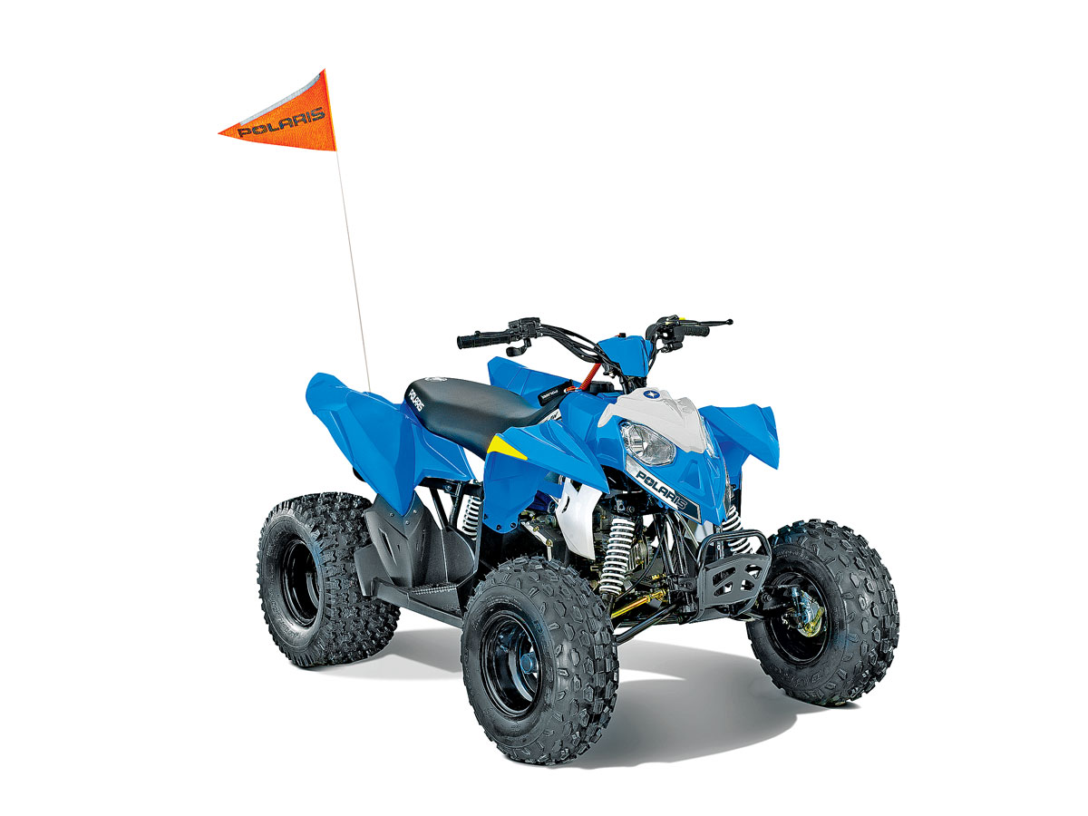 YOUTH13BUYERS_86_Polaris Outlaw 110 utv action magazine 2016 youth atv buyer's guide!  at edmiracle.co