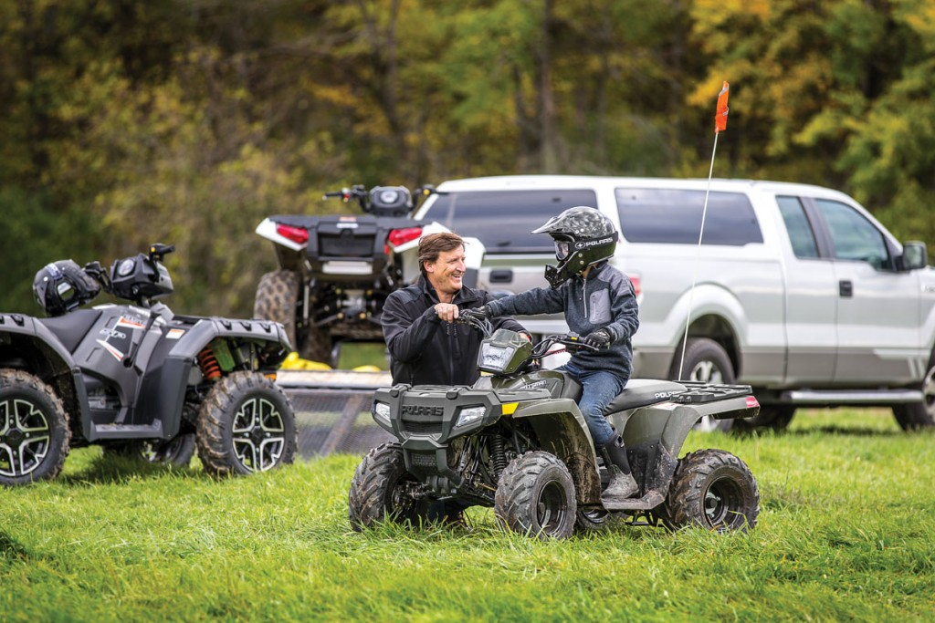 Youth ATVs offer young riders a kind of active fun they can't get from video games and other activities. These machines let kids take the controls and take to the trails to enjoy the outdoors with their families, and they help build riding skills that will help them when they graduate to full-size quads.