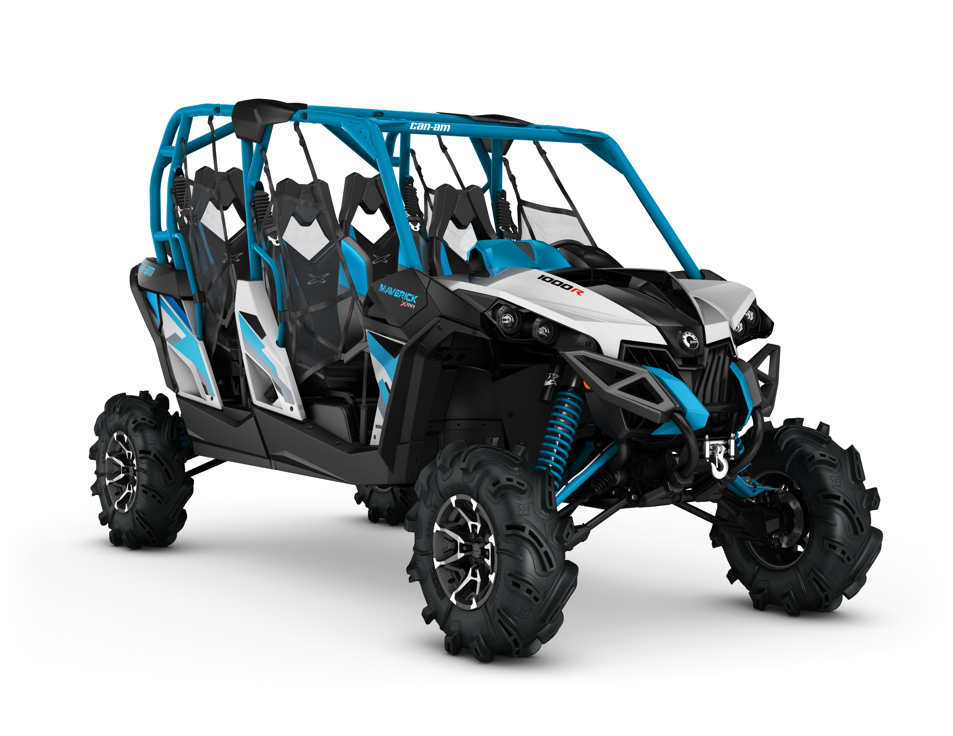 2017 Can Am Maverick 4 Seater >> Can-Am Maverick 1000R X MR Hyper Silver-Black-Octane Blue