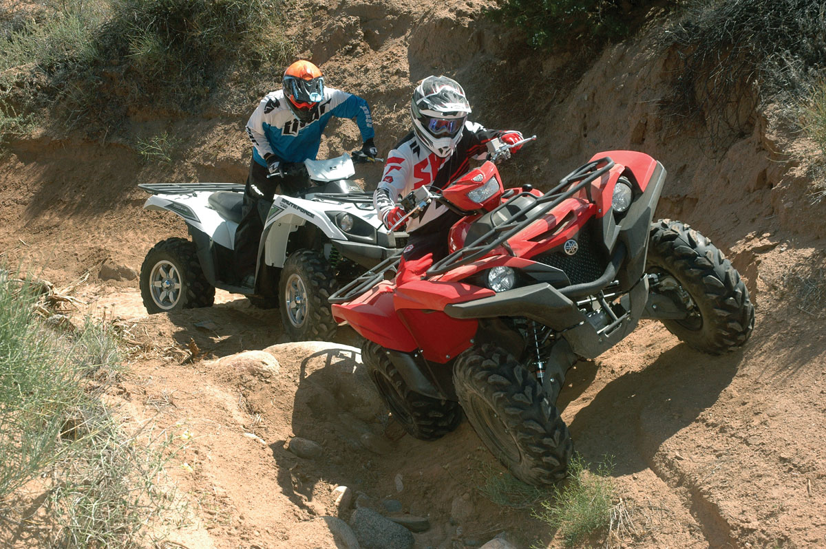 Yamaha Grizzly Vs Honda Atv