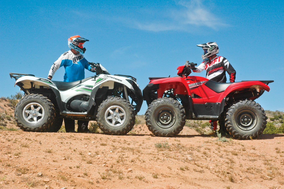Kawasaki Brute Force Vs Yamaha Grizzly