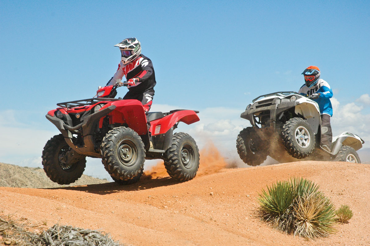 Kawasaki Brute Force Vs Grizzly