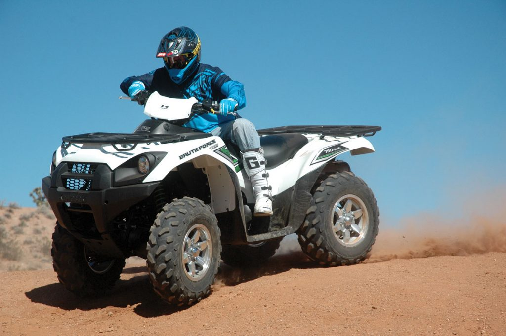 Yamaha Grizzly Vs Brute Force
