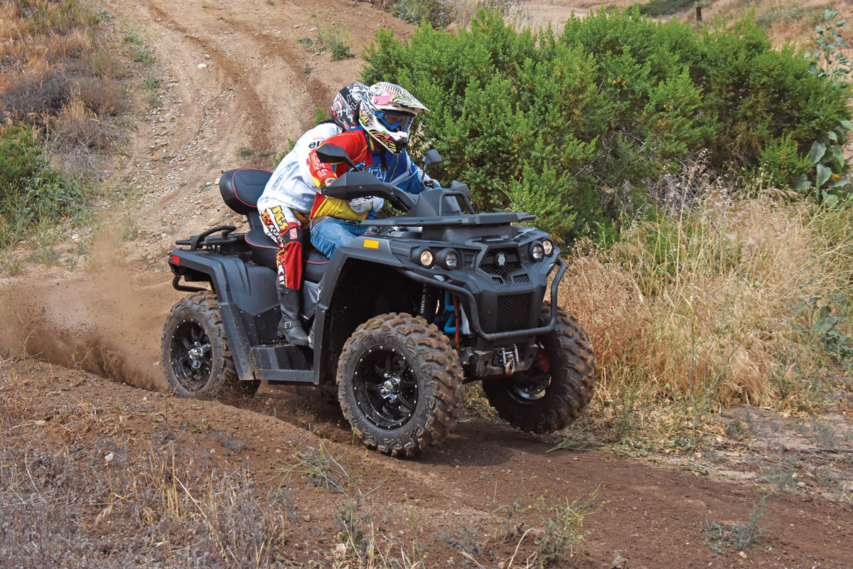 ATV TEST: ODES ailant 800 | UTV Action Magazine on