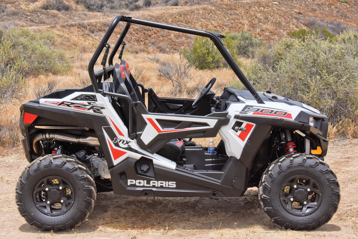 UTV TEST: Polaris RZR 900 EPS Fox Edition | UTV Action ...