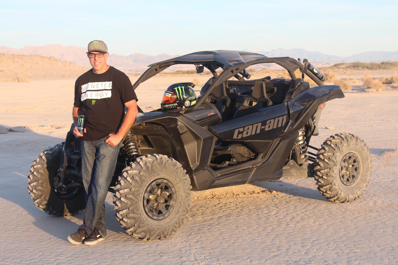 Can Am Adds Desert Racer Matt Burroughs For The 2017 Racing Season