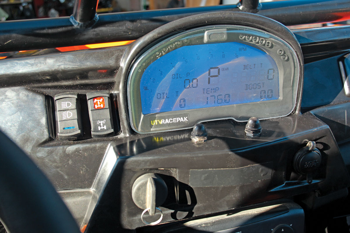PRODUCT: Racepak IQ3 RZR dash & mount | UTV Action Magazine on