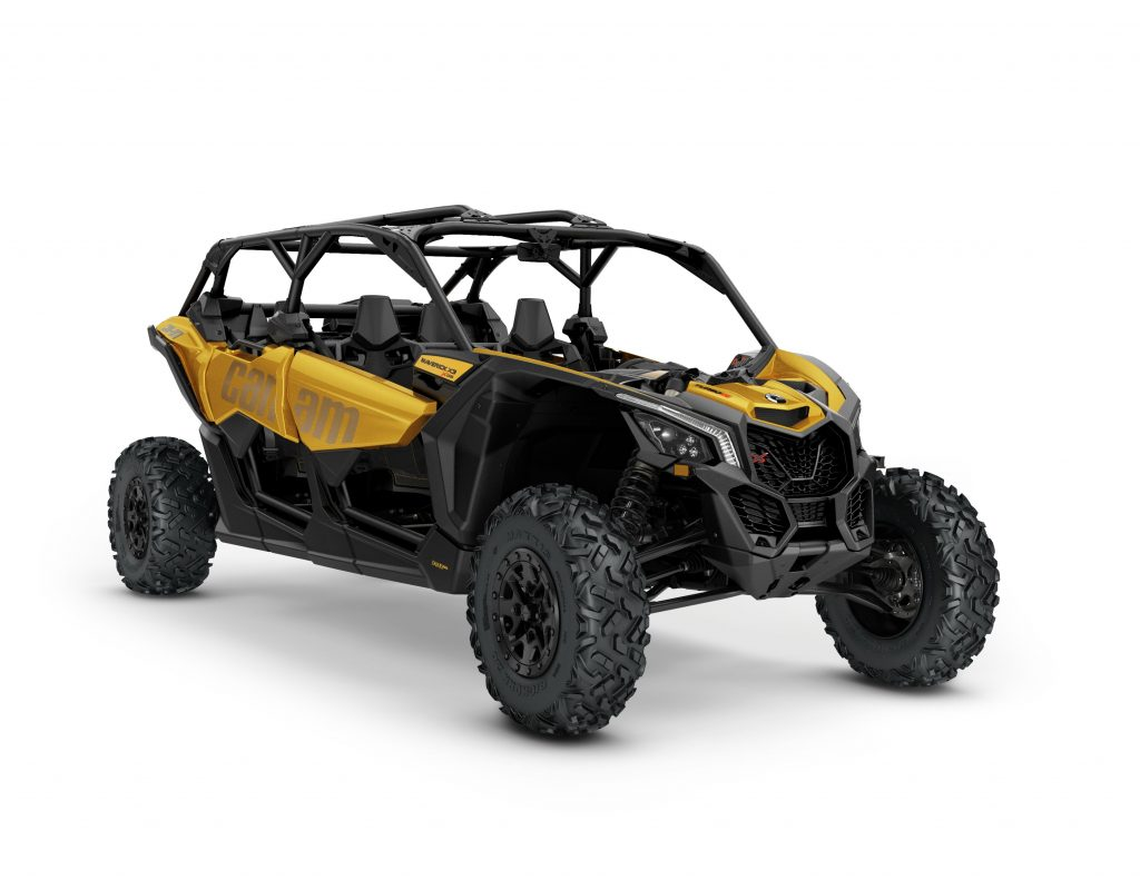 2017 Can Am Maverick 4 Seater >> The NEW Can-Am Maverick X3 MAX four-seater is here! | UTV Action Magazine