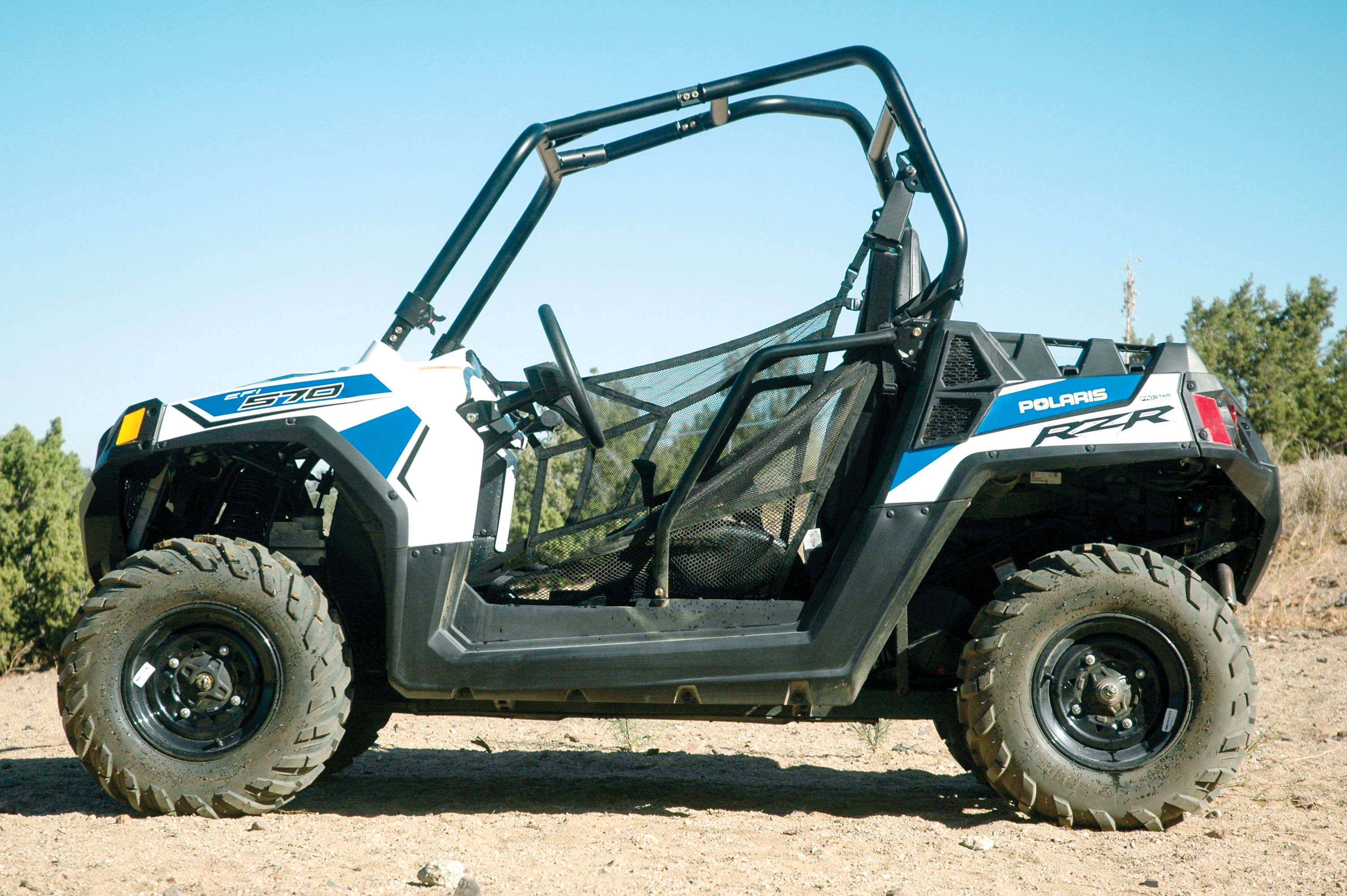 TEST: POLARIS RZR 570 | UTV Action Magazine