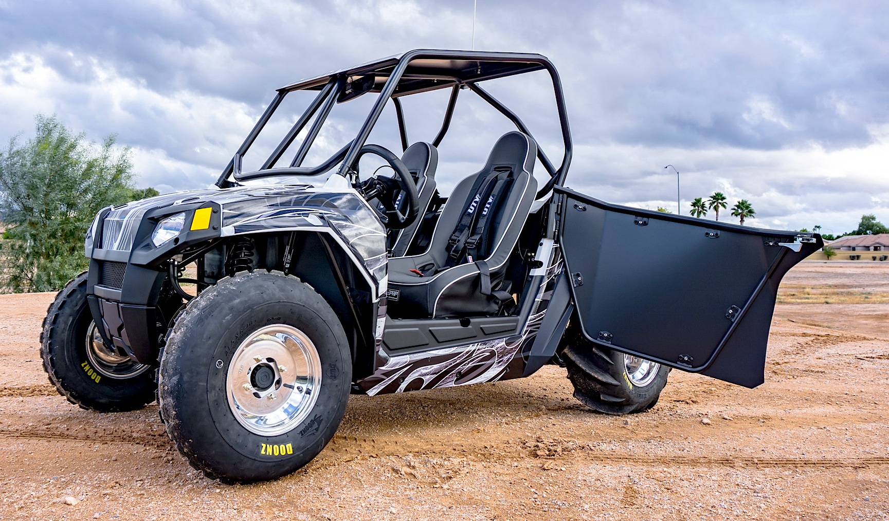 Custom Built Polaris Rzr 170 Utv Action Magazine