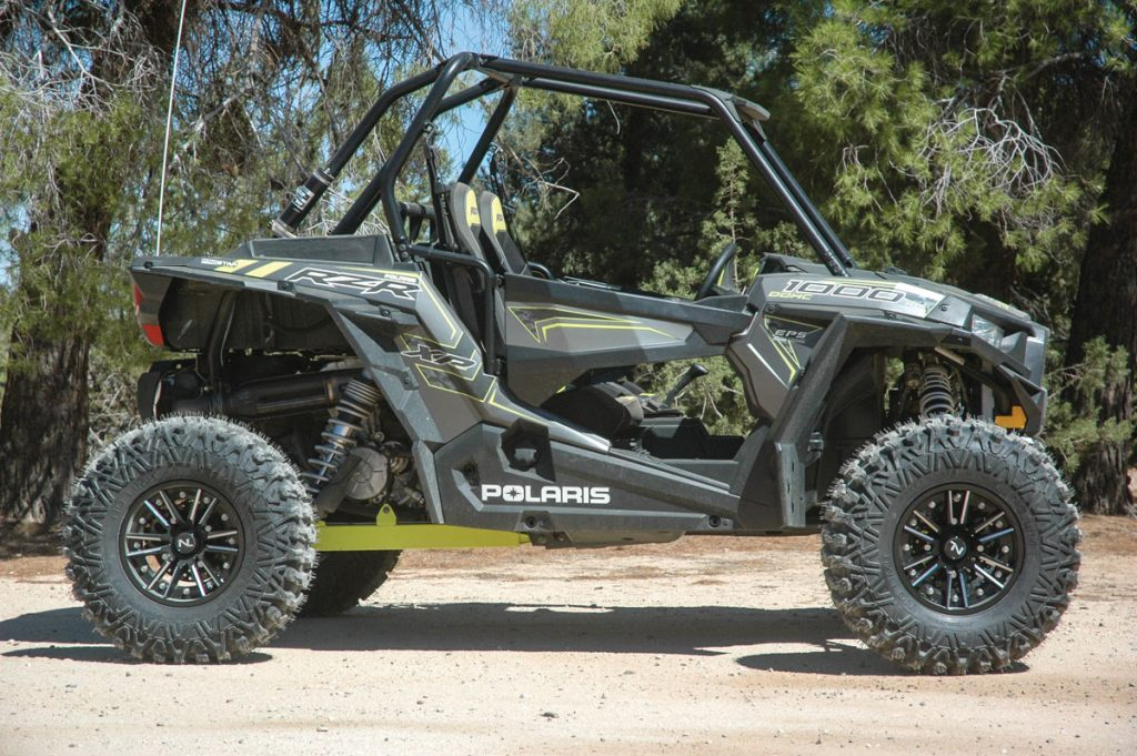 No Limit's new Storm wheel and Patriot tire are a stylish, rugged combination that provides the handling and traction highperformance UTVs and ATVs require.