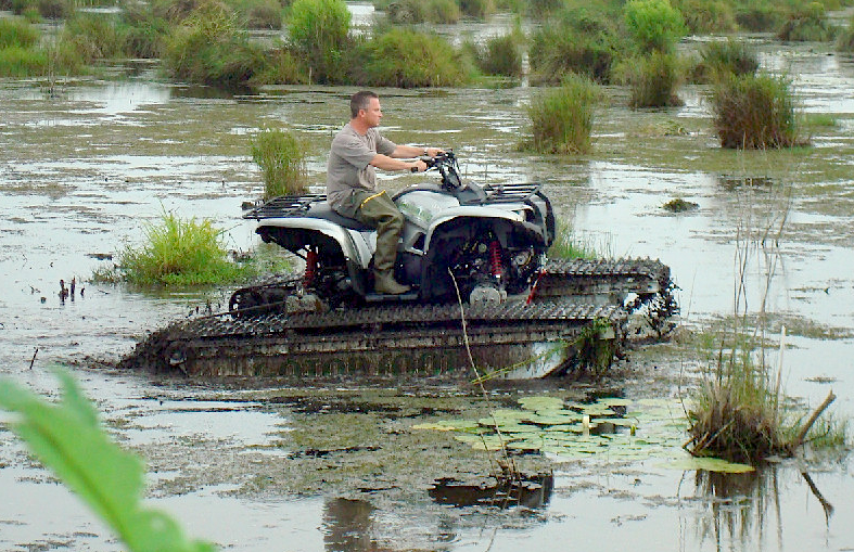 John Deere Gator >> CONVERT YOUR ATV OR UTV INTO A SWAMP MACHINE! | UTV Action Magazine