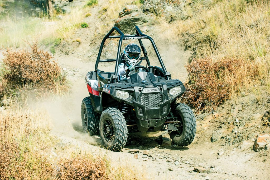 Light weight, plenty of power and the ability to ride trails most UTVs can't make the Ace 570 SP one of the most fun UTVs you can buy, and it's under $10,000.