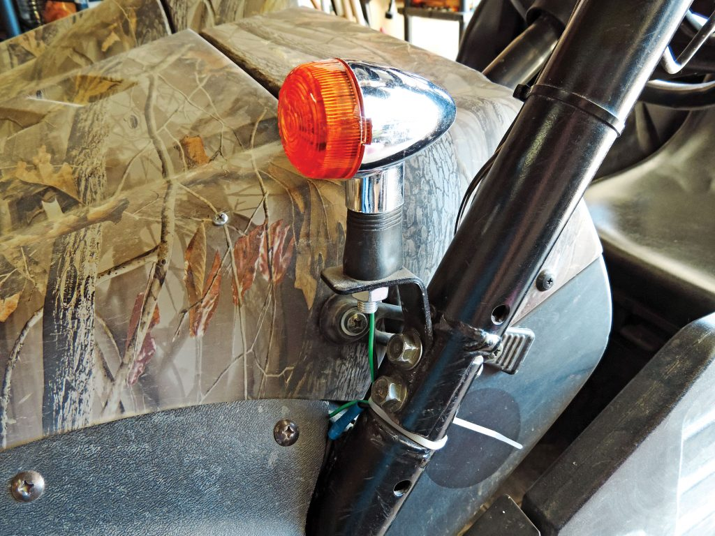 How To Do It Yourself Utv Atv Turn Signals Action Magazine Here Is A Wire Diagram For The And Hazard Lights Simple Home Made Brackets Secure Front Cage