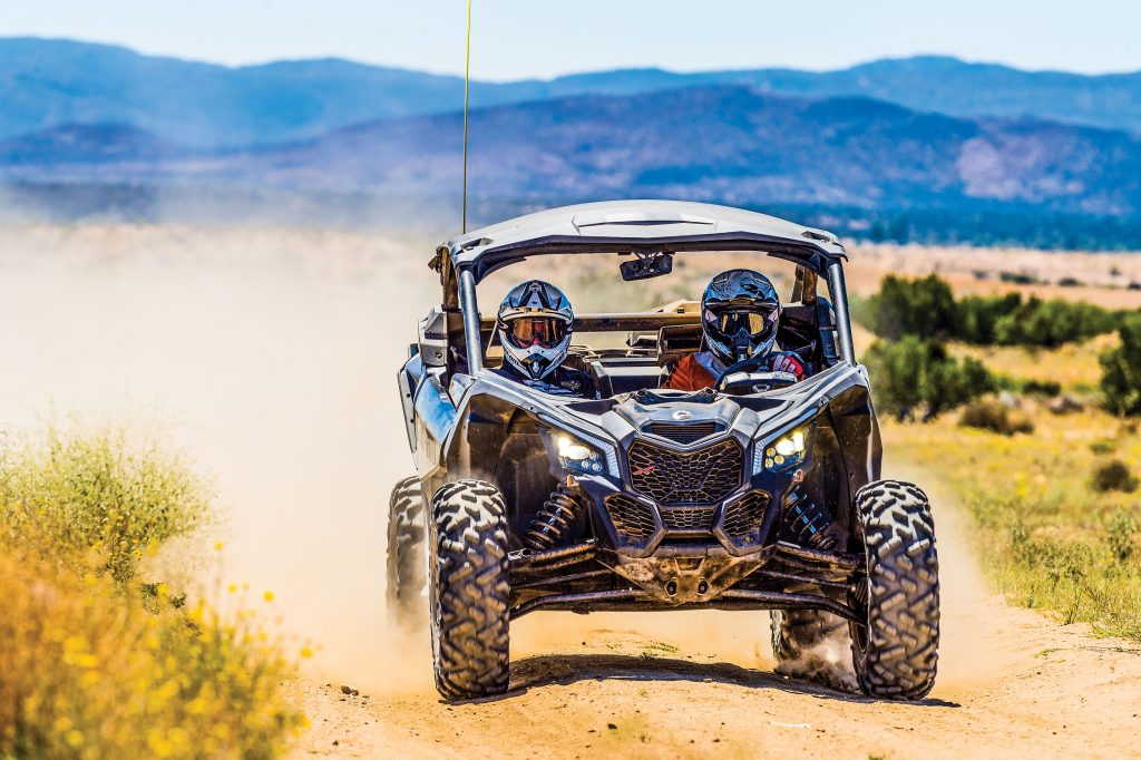 The 64-inch-wide Maverick X3 ds makes 154 horsepower, just like the top-of-the-line X3 rs, and it's almost 100 pounds lighter and nearly $2000 less expensive.