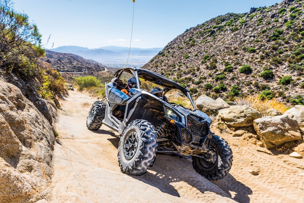 The X3 X ds' strong chassis, great balance and excellent suspension with front and rear sway bars give it confident, predictable handling that lets you really enjoy its massive power.