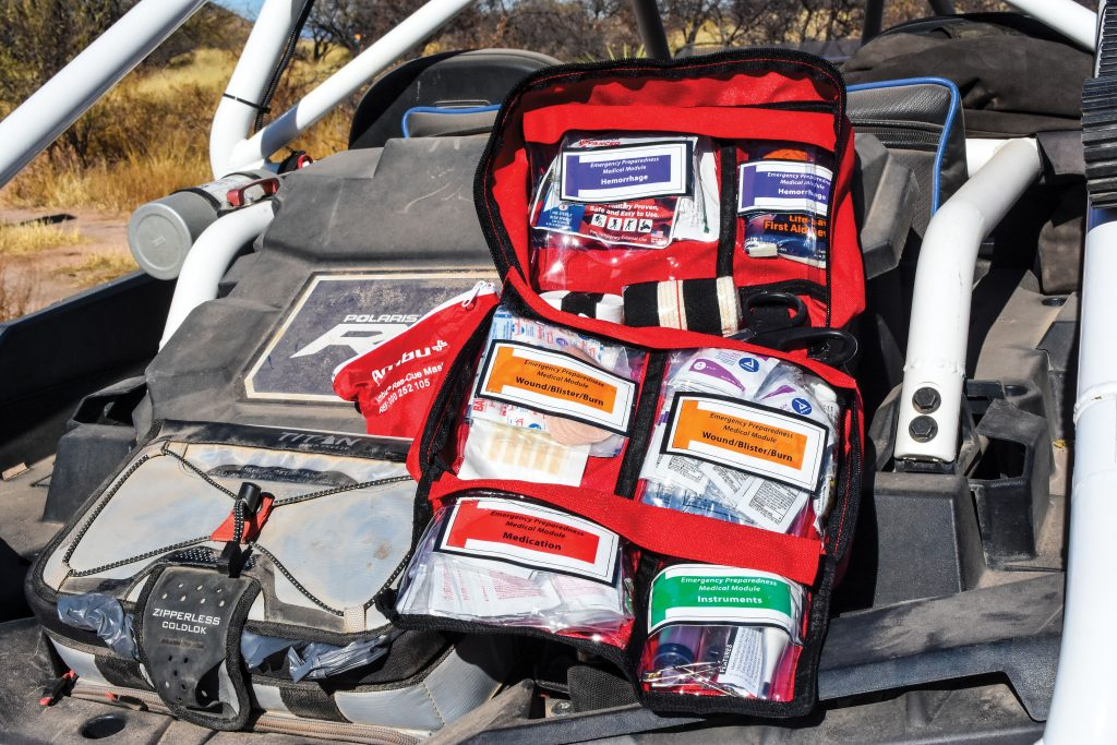 Chinook Medical Gear specializes in providing high-quality first-aid kits for use in harsh environments, and you can customize kits for your specific needs.