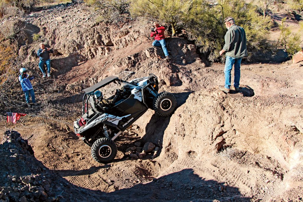 While most of the 700-mile trail is existing mines, BLM and USFS dirt-road, sand-wash sections can be challenging due to monsoons moving massive amounts of sand. It seems everything is prickly in Arizona, even the sharp, sometimes volcanic rocks.
