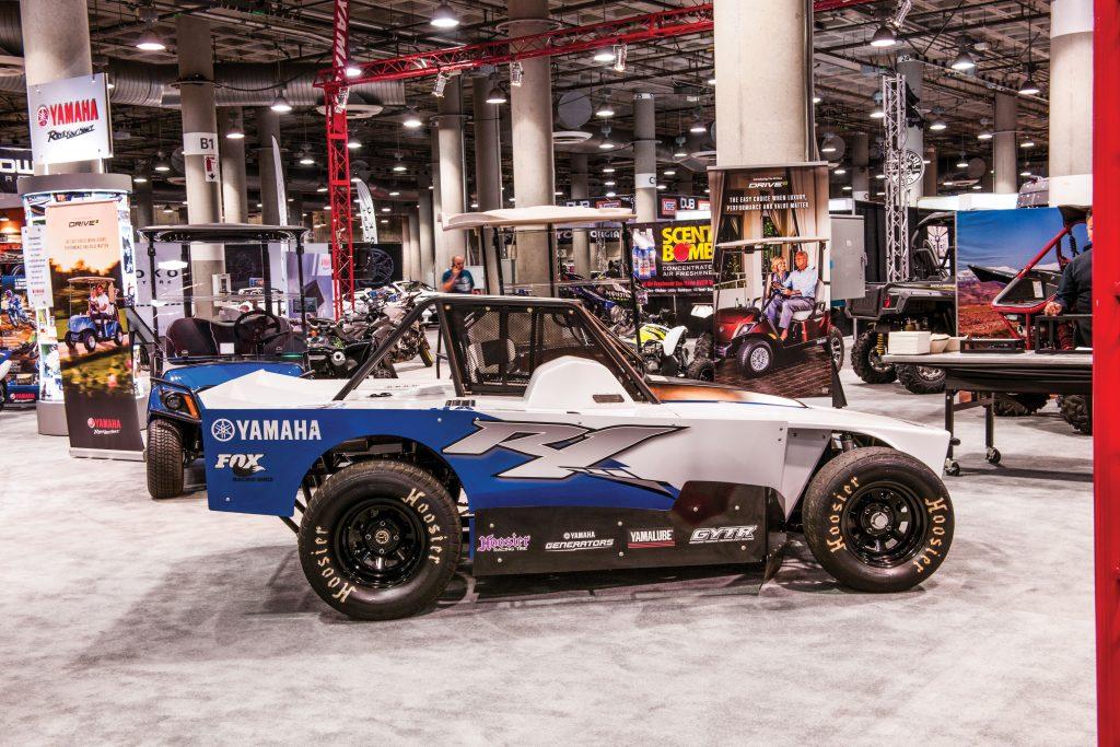 Dirt-track racer concept car.