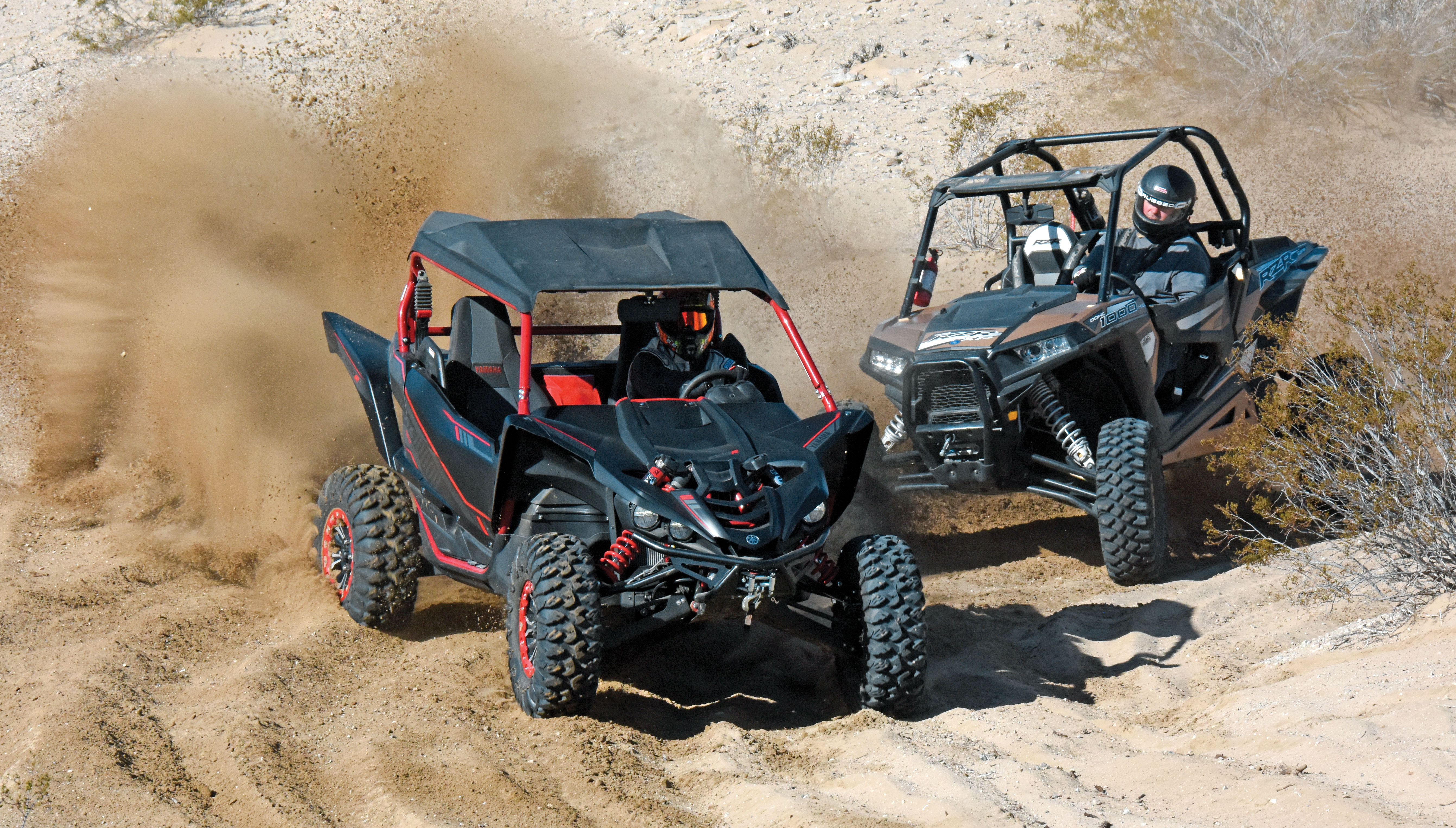 Shootout Polaris Rzr Xp 1000 Vs Yamaha Gytr Yxz1000r