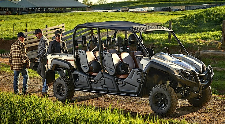 yamaha viking. the viking vi ranch edition will don same new color and features, along with a color-matched soft sun top, rear bed grab bar, heavy duty front brush yamaha