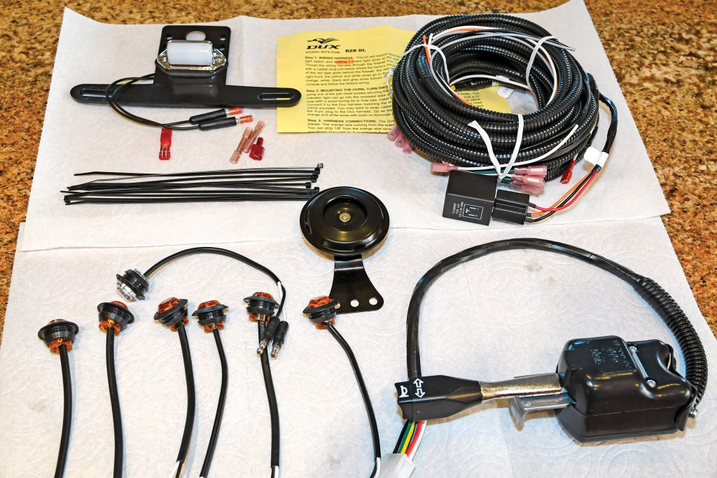 simple wiring diagram for lights on atv how to install a turn signal kit on your utv utv action  how to install a turn signal kit on your utv utv action