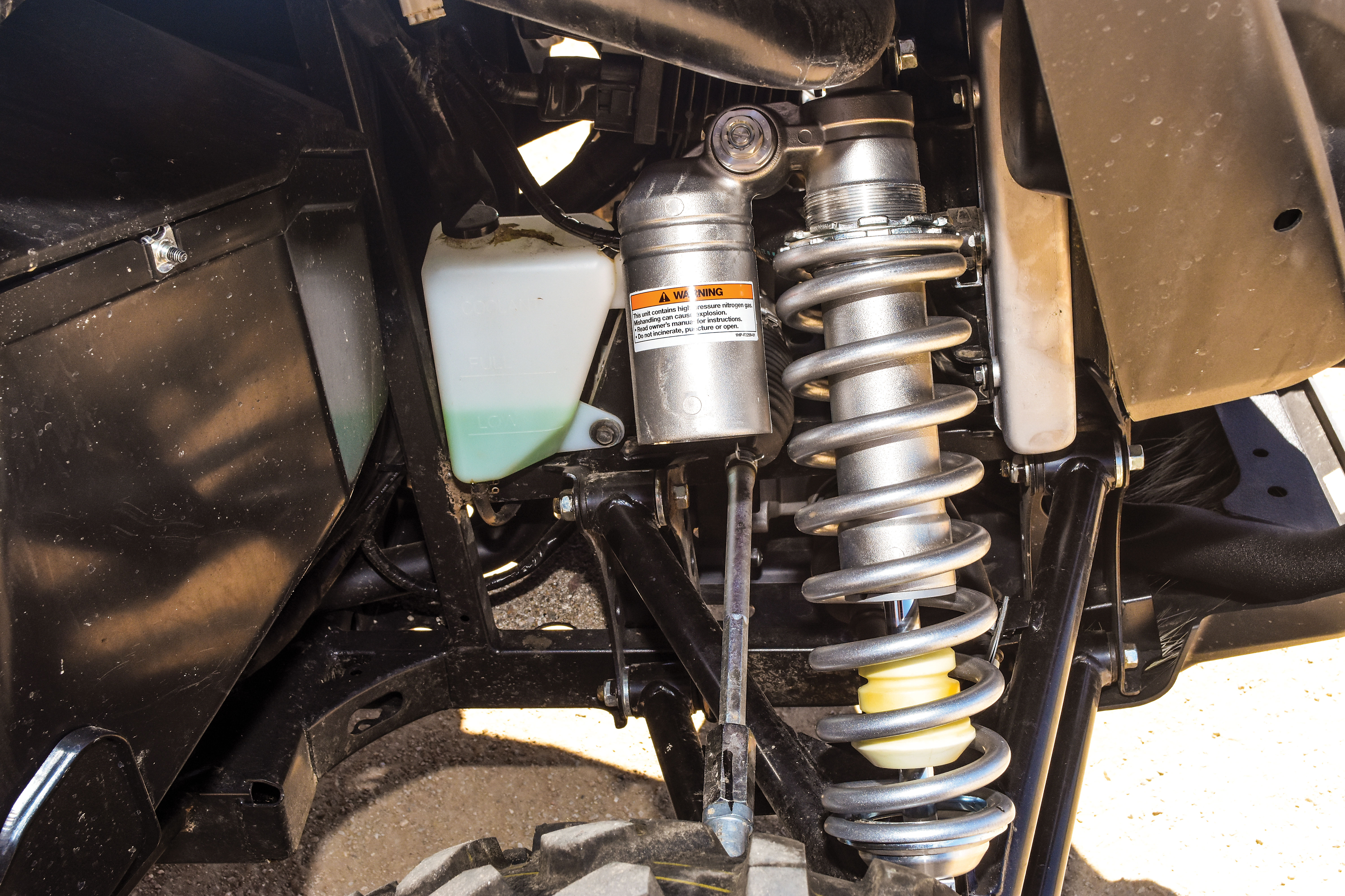 SHOCK THERAPY UTV RIDE IMPROVEMENT -- | UTV Action Magazine