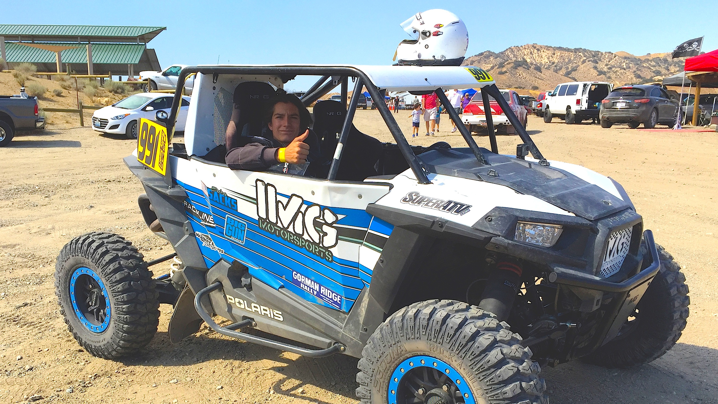 UTVs RUN UP FRONT IN RALLY CAR RACE