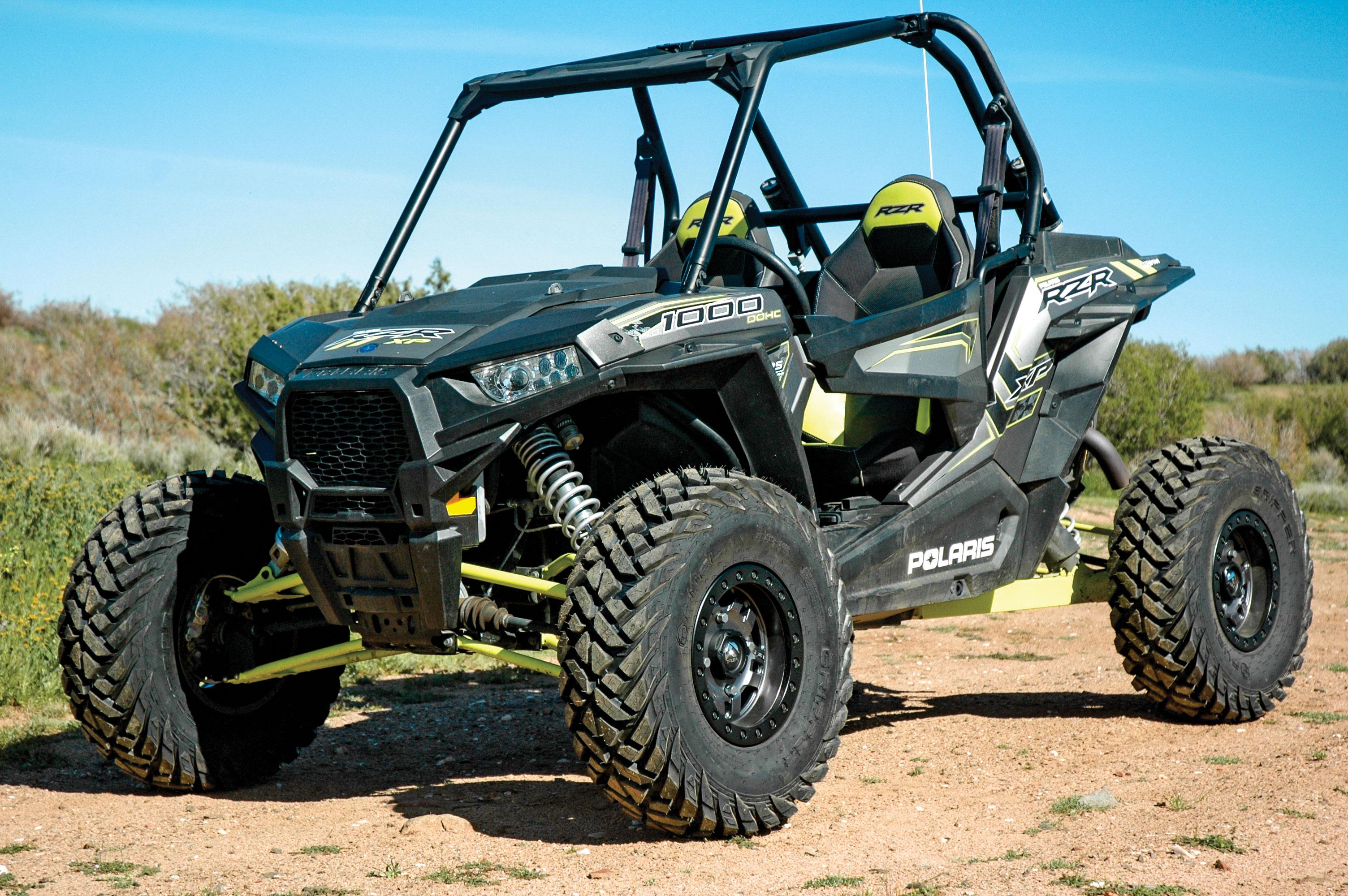 Fuel Gripper Utv Tires Anza D918 Beadlock Wheels Utv Action Magazine