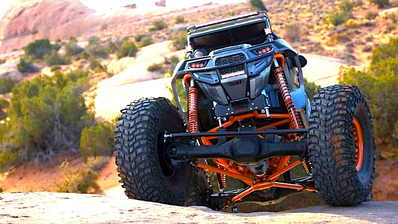 MONSTER RZR TURBO ROCK CRAWLER | UTV Action Magazine