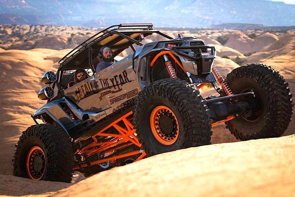 Monster Rzr Turbo Rock Crawler Utv Action Magazine